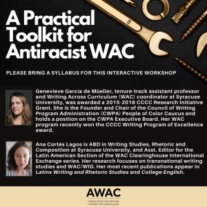 A Practical Toolkit for Antiracist WAC